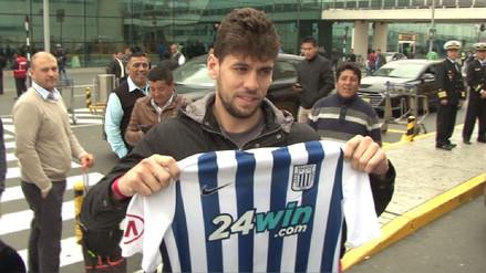 Así fue la llegada de Gabriel Leyes al Perú para firmar por Alianza Lima