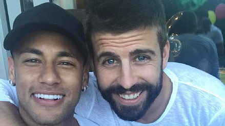 Neymar parodió el