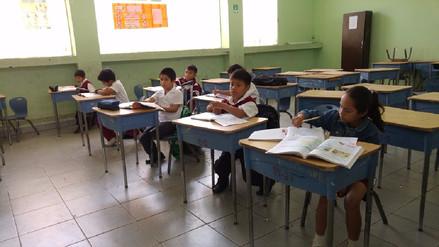 Colegios con mayor cantidad de alumnos se mantienen en huelga