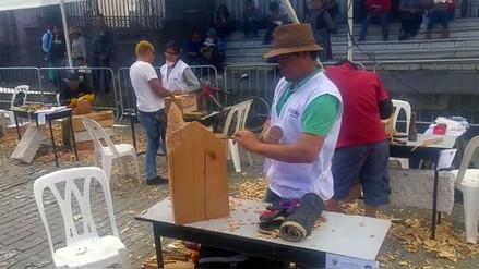Más de cien artesanos participan de concurso por aniversario de Arequipa