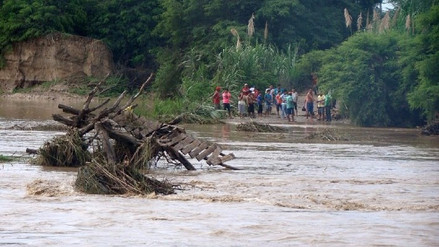 Destinan más de S/18 millones para reconstruir puente en Zaña
