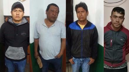 Capturan a cuatro delincuentes que asaltaron bus en la vía Arequipa - Cusco