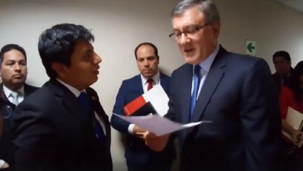 Ministro de Trabajo se comprometió a visitar Tumán