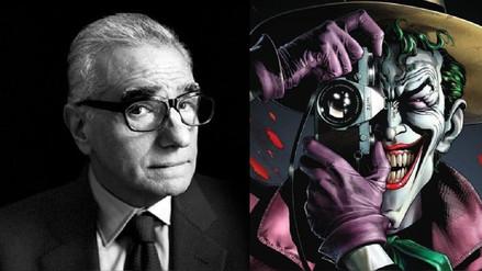 Martin Scorsese produciría película sobre el Joker