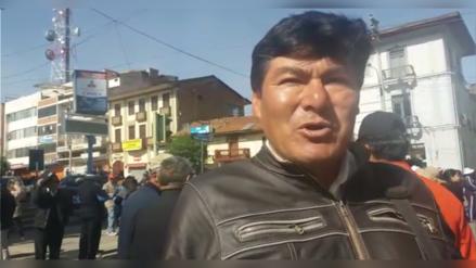 Docentes de Huancayo piden respeto a la estabilidad laboral