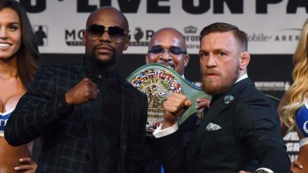 Mayweather vs. McGregor: se reveló el cinturón que se llevará el ganador