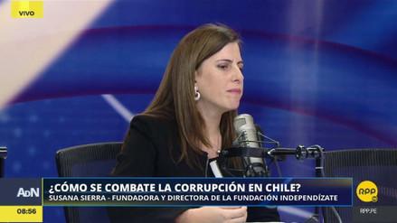 """Susana Sierra: """"A Chile lo ha sacudido fuerte la corrupción"""""""