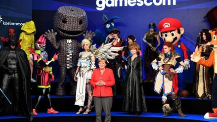 Así fue la inauguración de la Gamescom 2017 con Angela Merkel