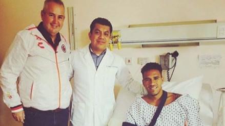 Pedro Gallese mostró la radiografía de su lesión en Instagram