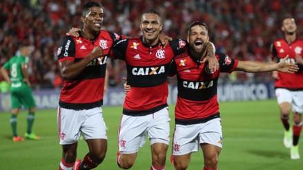 Flamengo con Paolo Guerrero avanzó a la final de la Copa de Brasil