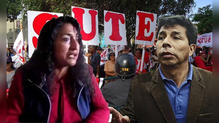 Aseguran que Pedro Castillo no logró nada que el Sutep no haya logrado