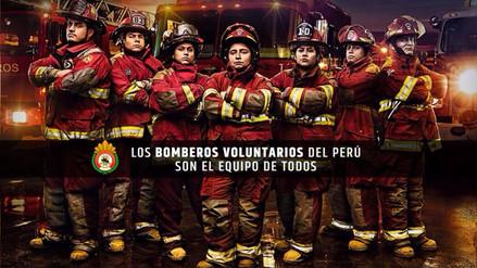 Campaña 'El Equipo de Todos' espera recaudar 1 millón de soles para los bomberos