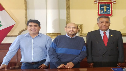 Edgar Vivar fue declarado visitante distinguido en Chiclayo