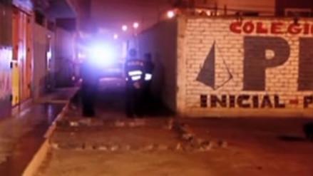 A balazos asesinaron a un hombre tras perseguirlo en San Martín de Porres