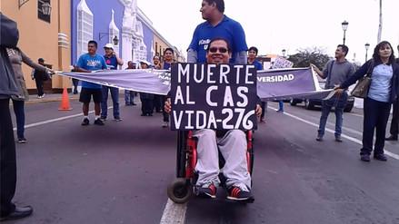Trujillo: Trabajadores CAS amenazan con huelga nacional