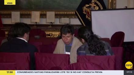 Pedro Castillo se reunió con miembros de Fuerza Popular y el Frente Amplio