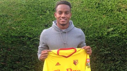 André Carrillo es oficialmente jugador del Watford de la Premier League
