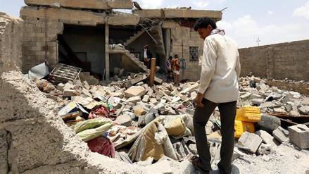 Más de 50 muertos por bombardeos en la capital de Yemen