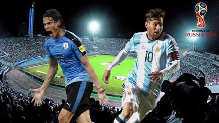 Argentina visita a Uruguay para meterse en zona de clasificación al Mundial