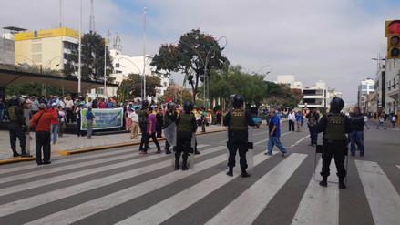Bandos protestan por estado de emergencia del distrito de Tumán