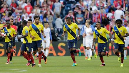 Ecuador sufrió la baja de un jugador titular para el duelo ante Perú