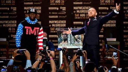 La pelea Mayweather vs. McGregor genera temor entre las casas de apuestas