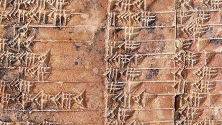 Una tabla babilónica de 3,700 años ha cambiado la historia de las matemáticas