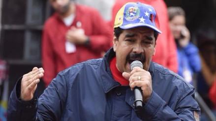 Maduro acusa de traición a la patria a opositores por sanciones de EE.UU.