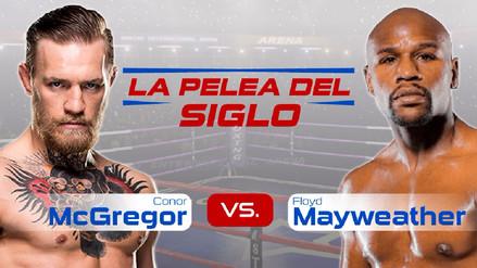 Infografía | Todos los datos de la pelea Mayweather vs. McGregor