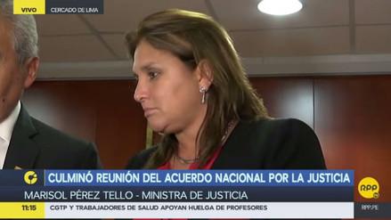 Pérez Tello descartó que los audios de Príncipe prueben presiones