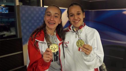 Peruanas ganaron 9 medallas en el Sudamericano de Gimnasia Aeróbica