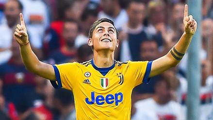 Paulo Dybala anotó un triplete en triunfo de Juventus frente al Genoa