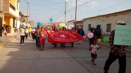 Centro de salud de Zaña festejó Día del Adulto Mayor