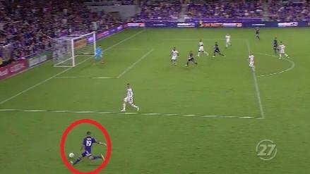 Así fue la asistencia de Yoshimar Yotún en el gol de Orlando City
