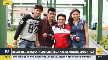 Reportaje: El Perú ofrece menos becas pese a una demanda que sigue creciendo