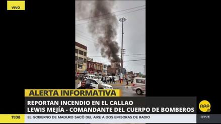 Un incendio consume una vivienda del Cercado del Callao