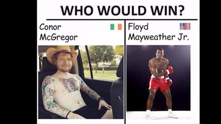 Los mejores memes de la pelea entre Floyd Mayweather vs. Conor McGregor