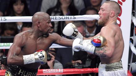 ¿Qué dijeron Floyd Mayweather y Conor McGregor tras la pelea?