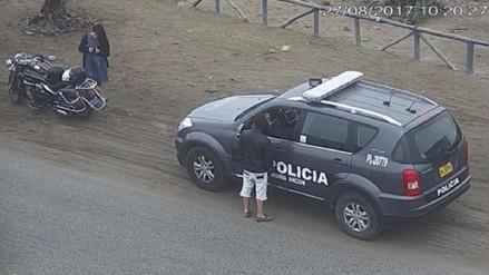 Efectivos que habrían recibido coima en Ancón fueron identificados