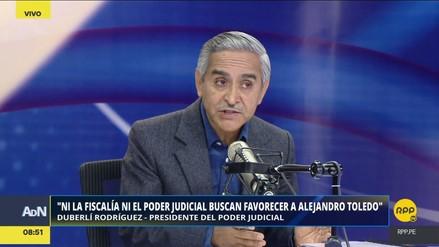 """Duberlí Rodríguez: """"Ni la Fiscalía ni el PJ están buscando favorecer a Toledo"""""""