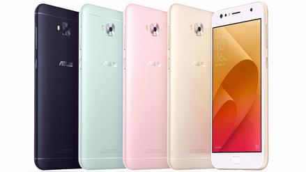 Asus anunció su nueva línea de smartphones ZenFone 4