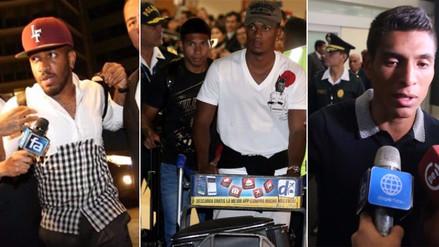 Farfán, Hurtado, Flores y Carrillo se sumaron a la Selección Peruana
