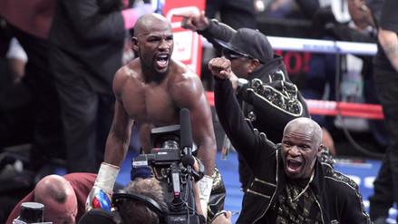 Las mejores imágenes del triunfo de Mayweather sobre McGregor en Las Vegas