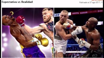 Los 20 mejores memes del triunfo de Mayweather sobre McGregor