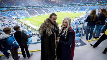 Game Of Thrones | Jon y Daenerys observaron partido de fútbol