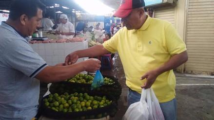 Lambayeque: precio del limón cumple dos meses en alza