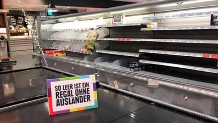 La creativa estrategia de un supermercado alemán para combatir el racismo