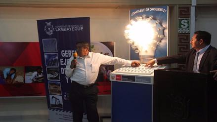 Chiclayo: capacitan a docentes en uso eficiente de energía eléctrica