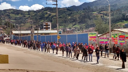 Ronda campesina pide a profesores de Cutervo retomar clases