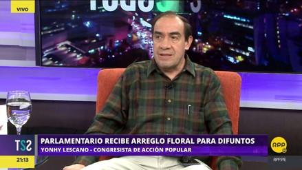 Yohny Lescano denunció haber recibido amenazas de muerte